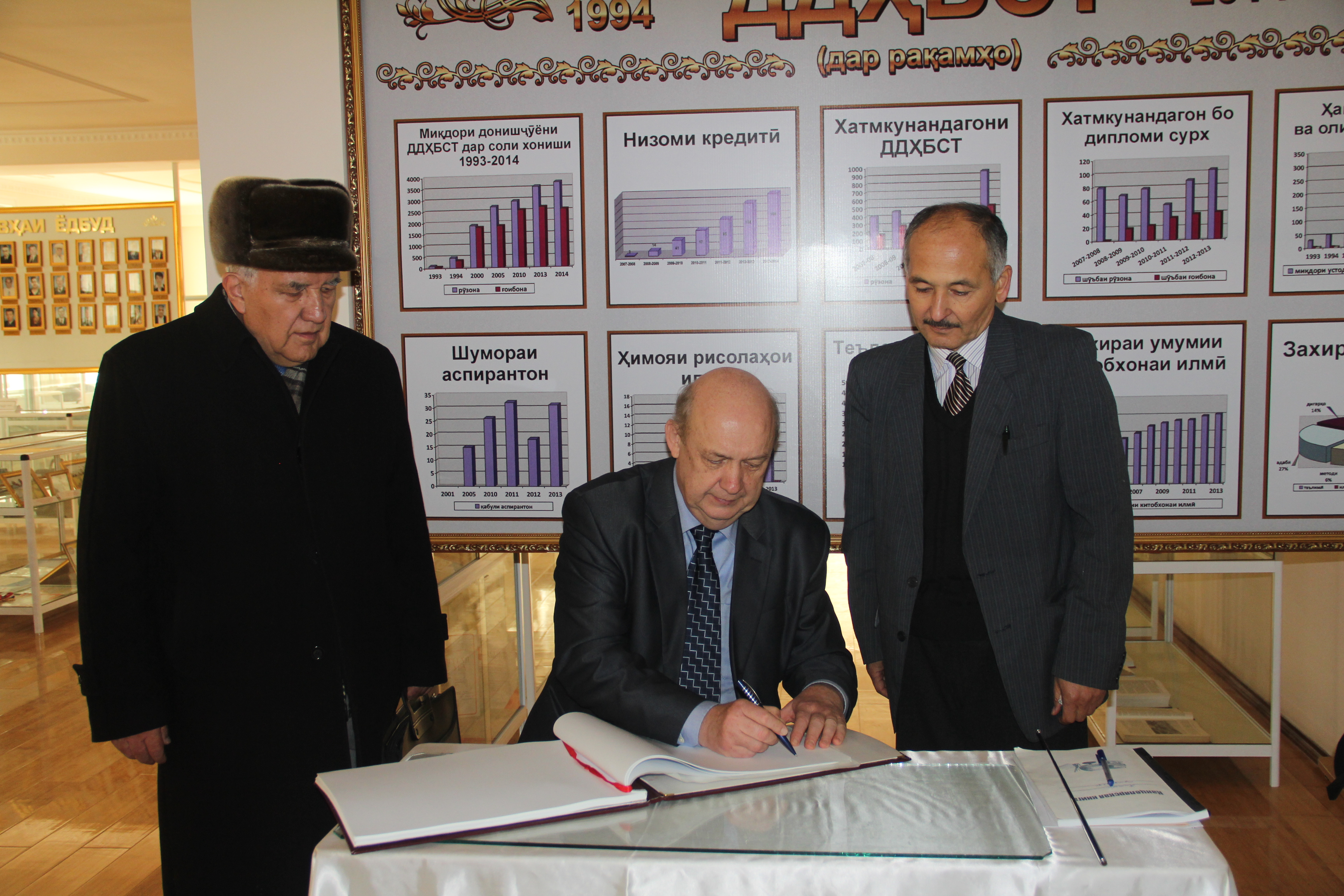 Таджикском государственном университете права бизнеса и политики